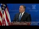 """Neue Iran-Strategie- Mike Pompeo - """"Stärkste Sanktionen der Geschichte"""""""