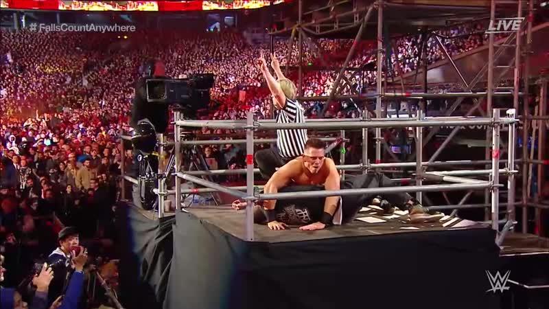 (WWE Mania) The Miz vs Shane McMahon cWrestleMania 35