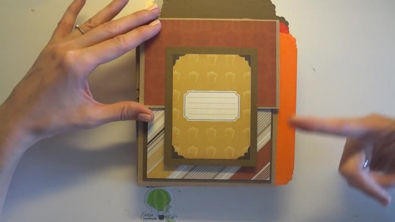 Echo Park Paper Reflections Fall - Осенний альбом, 2 - Скрапбукинг мастер-класс - Aida Handmade