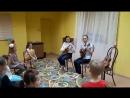 Соня и Маша на мастер классе в Чудограде
