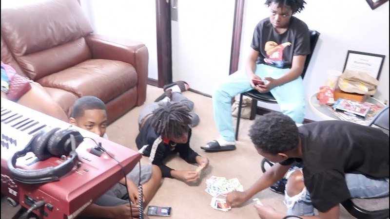 DEDE3X, JAY BAMBAM IN THE STUDIO RECORDING THE ELBOW DANCE SONG