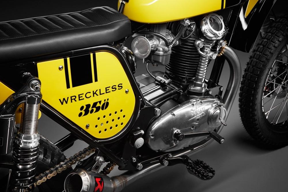 Wreckless: кастом Ducati 350 Scrambler