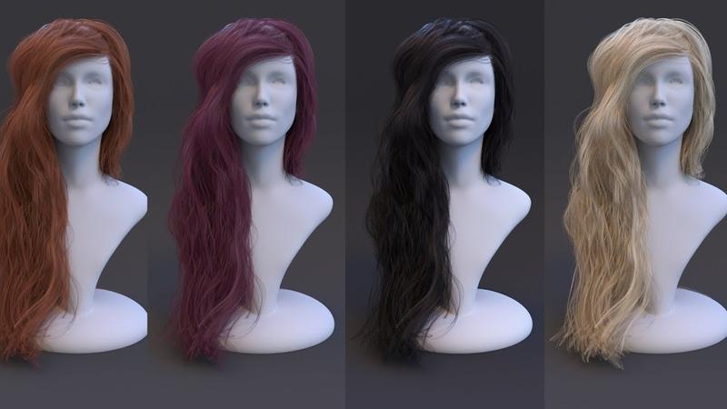 Understanding Corona Hair Material in 3ds Max