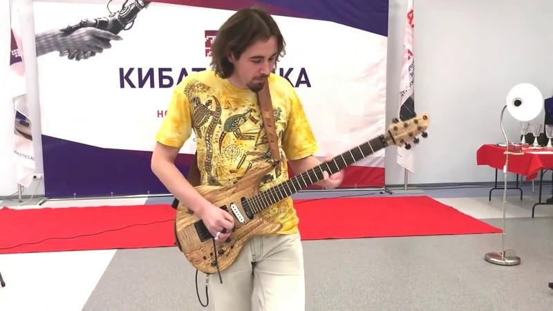 Макс Емец - Pink Floyd Comfortably Numb solo improvisation