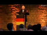 Willy Wimmer und Max Otte (Nationalhymne, Abmoderation) Neues Hambacher Fest am 05.05.2018