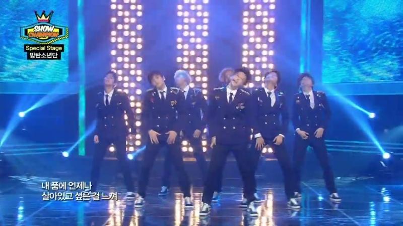 BTS - This Love T.O.P (SHINHWA), 방탄소년단 - 디스러브 티오피 (신화), Show Champion 20140319