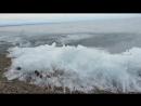 Ледяная волна Байкала.