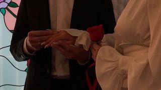 """Alena Vodonaeva on Instagram: """"Это был самый чудесный день. Наша свадьба в той самой, известной, старой церкви. Самая искренняя регистрация. Без вс..."""
