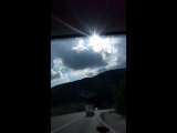 проезжаем горы Краснодарского края