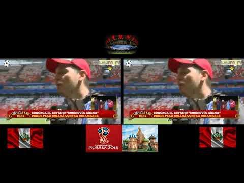 Cristian Rivero LLora Al Escuchar El Himno Nacional En Estadio Donde Jugara PERU VS DINAMARCA
