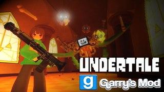 Undertale в игре Garrys Mod (Моды Андертейл для Гаррис мод) / Способности Санс и Чара
