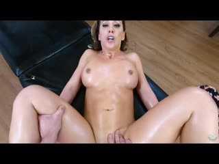Cherie Deville - Massaging My Friends Hot Mom [All Sex, Hardcore, MILF, Big Tits, Massage, POV]