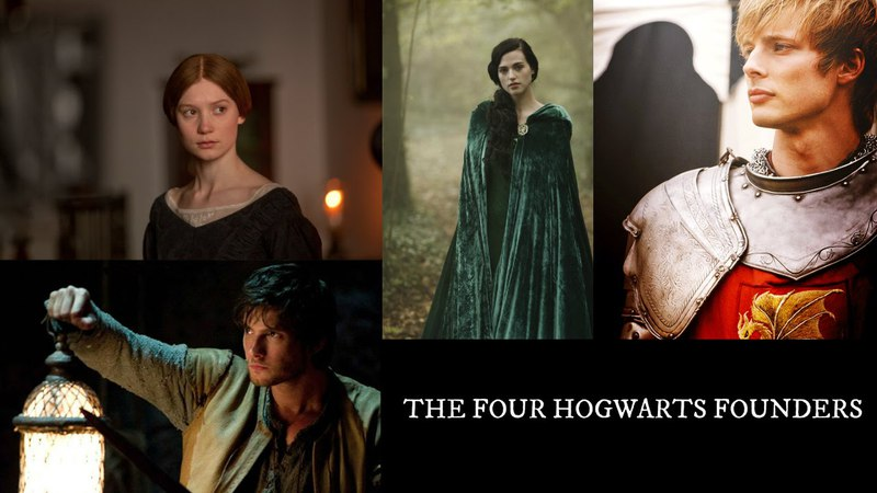 The Four Hogwarts Founders