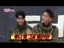 161227 Sing A Song Season KNK pt.02 @ Show Champion Behind with KNK