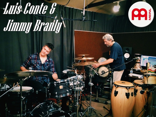 Luis Conte and Jimmy Branly Part 1 MEINL Percussion