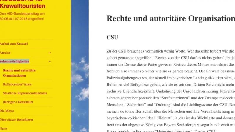 """""""Reiseführer für Krawalltouristen""""_ Antifa ruft im Internet zum Angriff au.mp4"""