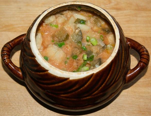 Рыба в горшочке по-охридски