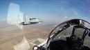 Отработка группового авиаудара экипажами истребителей МиГ-29СМТ ВКС РФ