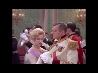 Marilyn and Laurence Olivier in The Prince and the Showgirl.