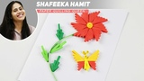 Tutorial - Quilling Made Easy Learn Flower using comb Quilling - Paper Art comb Quilling