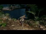 Shadow of the Tomb Raider Живой геймплей в джунглях.