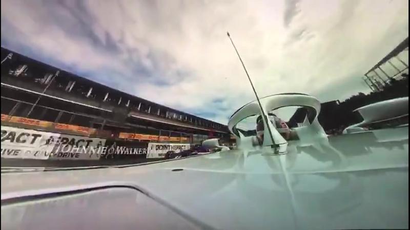 Belgium 2018: Leclerc's near miss in 360