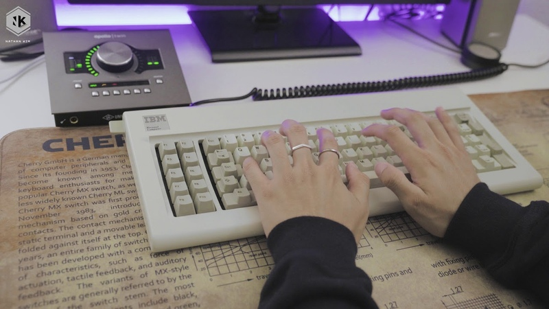 IBM Model F XT Typing Sounds