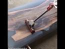 Проектирование столов из твердой древесины со смолой