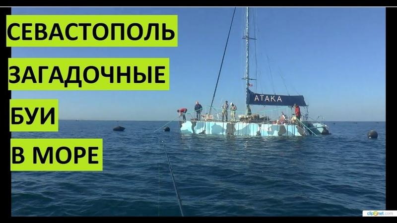 Загадочные буи в Севастополе