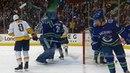 Canucks Nilsson smashes goalie stick after Predators score sixth goal