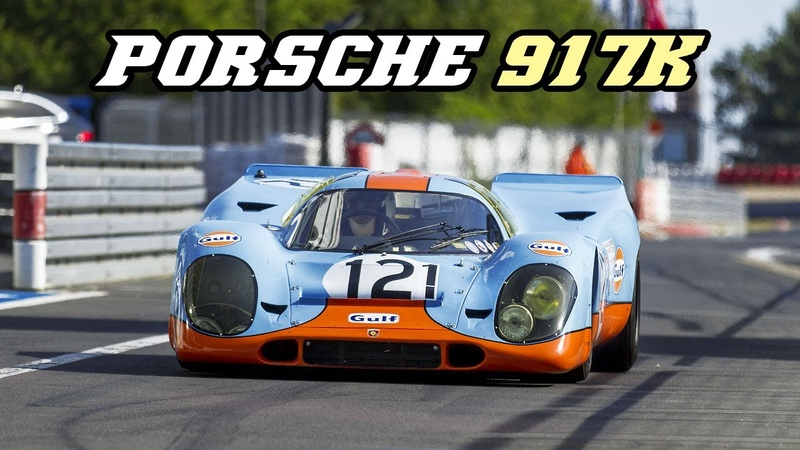 Porsche 917k Gulf - racing at the Nürburgring 2018