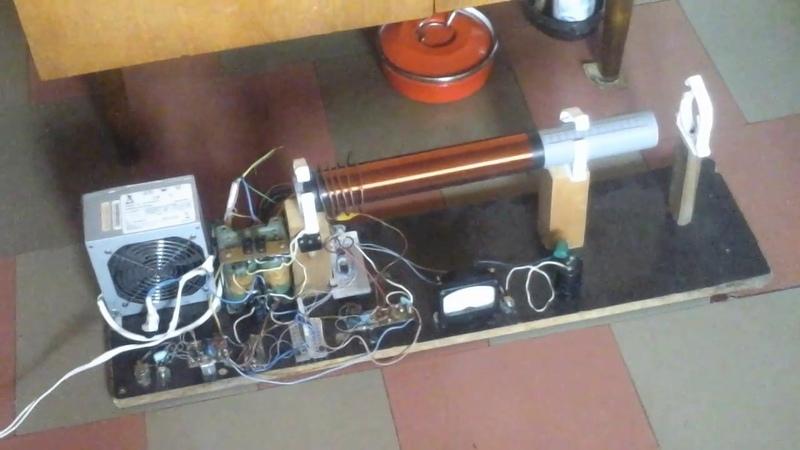 Импульсная модуляция качера. Добавлен комп блок питания на 12 вольт