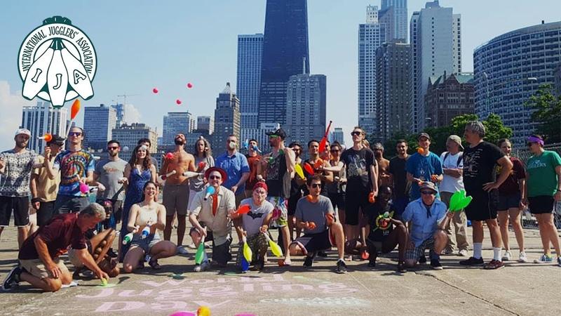 World Juggling Day 2018