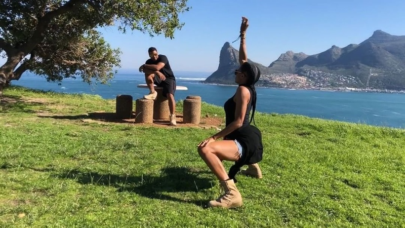 "Ciara on Instagram: ""When you and Bae DoTheShiggy On Top of Cape Town on ur Honeymoon. @DangeRussWilson InMyFeelingsChallenge"""