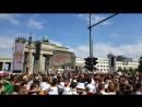 Deutschland vs Mexico. Berlin