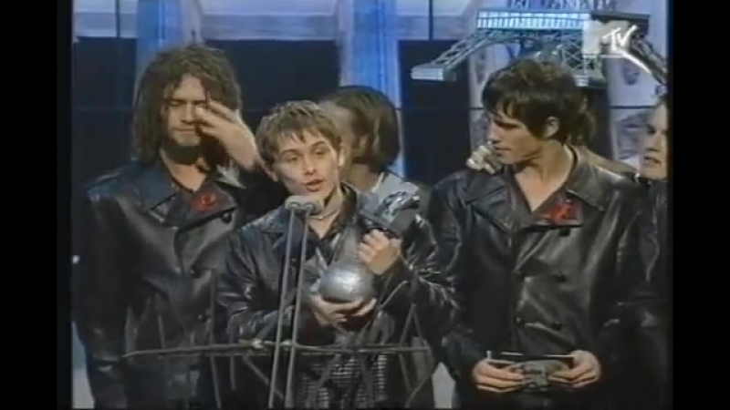 Take That win Best Group at MTV Europe Music Awards 1994 Perform Sure