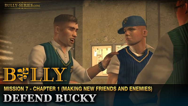Защити Баки - Миссия 7 - Bully: Scholarship Edition