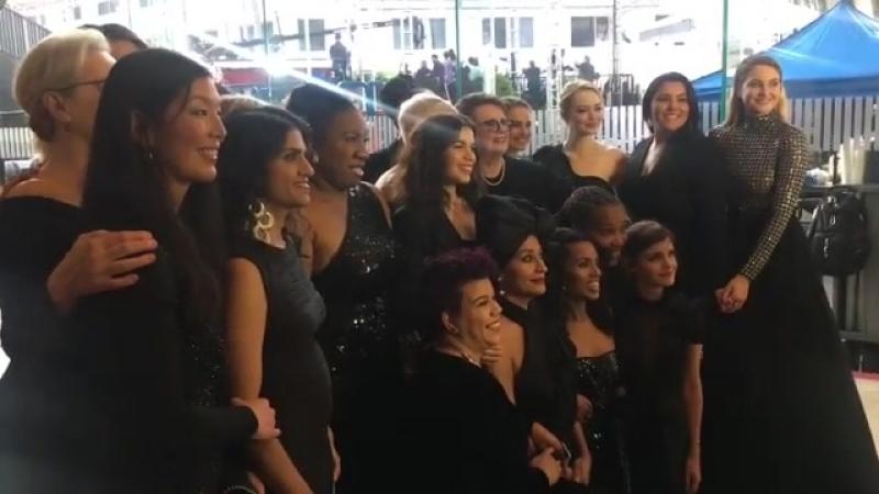 Публичные появления | Церемония награждения «Золотой глобус» в Беверли-Хиллз (07.01.2018)