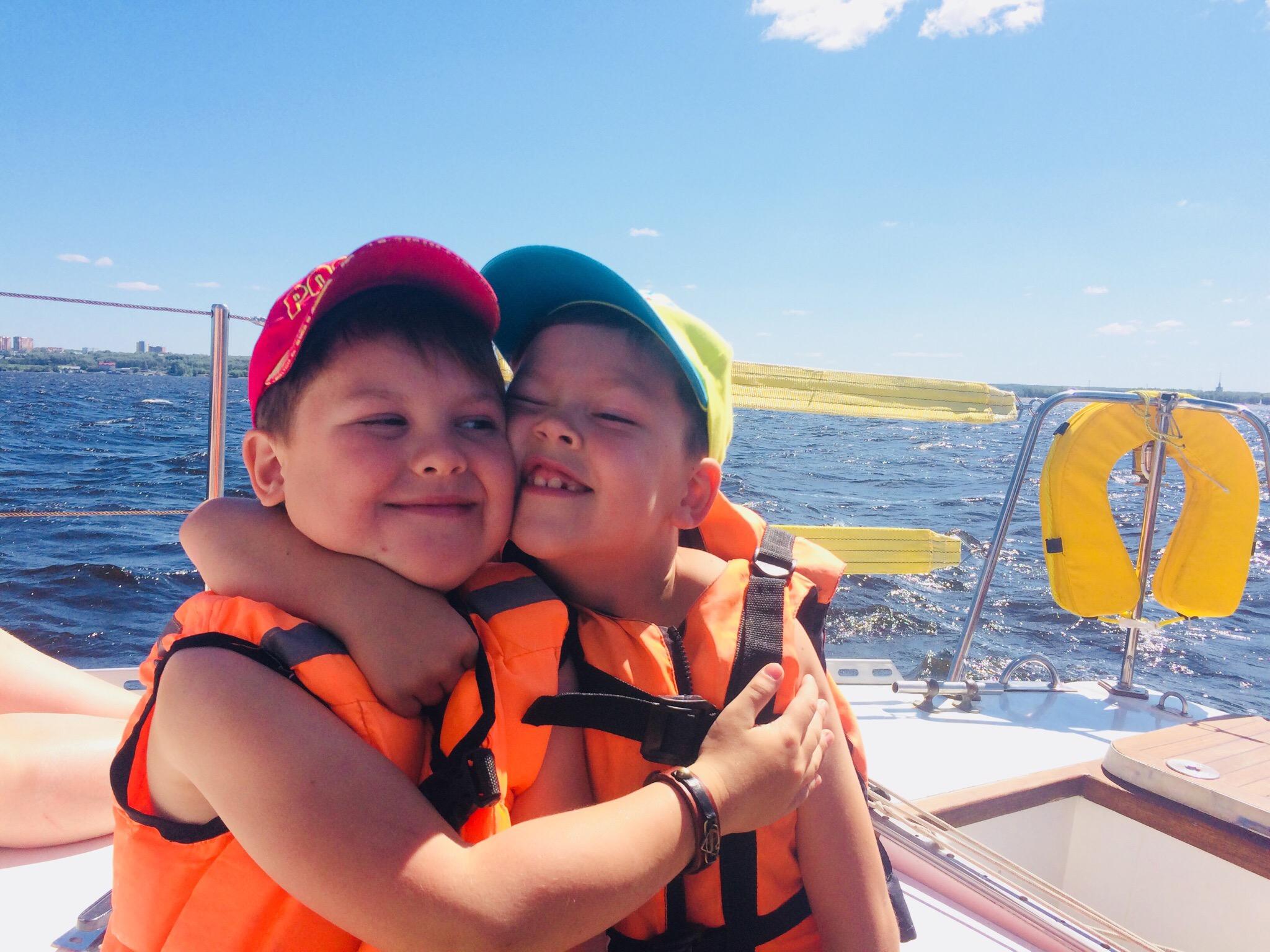 дети на яхте пермь