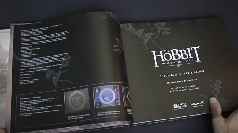 The Hobbit- The Desolation of Smaug Chronicles- Art Design