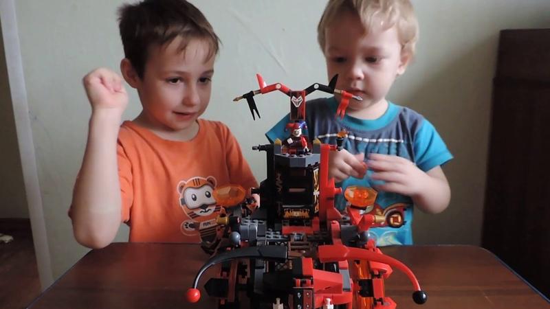 LEGO NEXO KNIGHT.COMPILATION ALL LEGO Nexo Knight Suits новинка