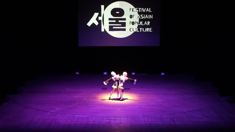 Suzume Charly Tween Rem Ram Re: Zero kara Hajimeru Isekai Seikatsu Ярославль FAP 2019. Festival of Asian Popular culture