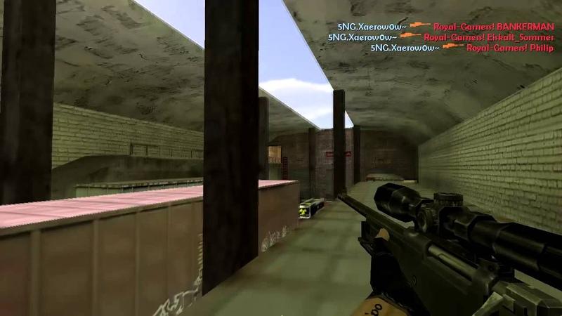Kceu`po vs Royal-Gamers [AWP/ HE Ace on de_train].