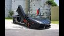 Lamborghini Aventador LP700-4 ANGRY BULL Ride Interior Exterior Exhaust Sound at Lamborghini Miami