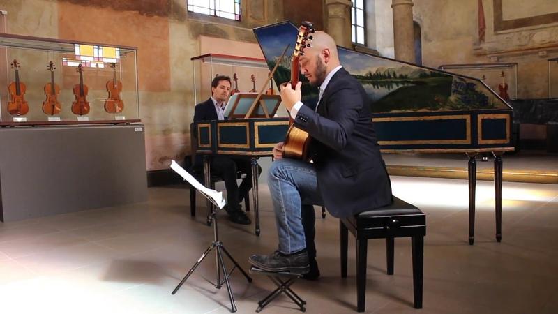 Duo Extravagantia - M. M. Ponce, Preludio for HarpsichordGuitar