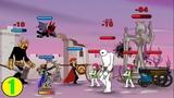 I am Archer! Я Лучник! Атака стикменов! Clone Stick War, война человечков!