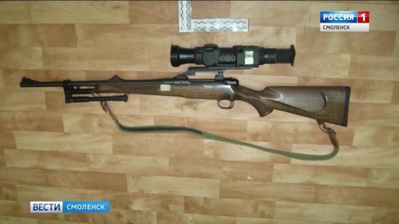 Житель Орловщины убил смоленского оленя Браконьера накажут ГТРК