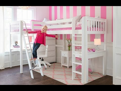 100 Cool Ideas! BUNKBEDS FOR GIRLS!