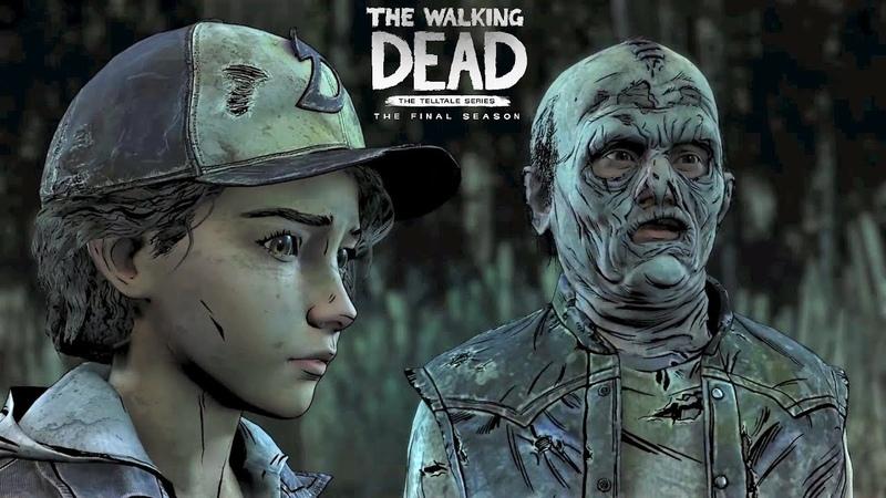 The Walking Dead The Final Season Episode 3 - Джеймс рассказывает Клементине о своем парне