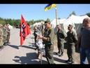 Присяга стрільців УНСО на полігоні в Новоград-Волинському 07.09.2014
